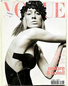 Vogue Paris Francia n. 817 mai 2001 Natasa Vojnovic Greg Kadel Stella Tennant