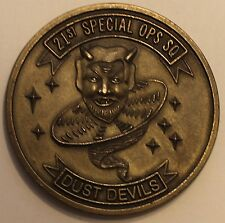 21st Special Operations Sq Dust Devils Pave Low PJ Air Force Challenge Coin