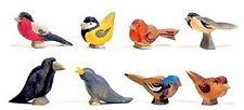 Ostheimer Vogelgruppe 1680 Handarbeit Holz 8 Teile bunt NEU & OVP