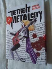 // NEUF DETROIT METAL CITY Tome 2 DMC MANGA EO VF DEATH KISS ROCK POP MUSIQUE