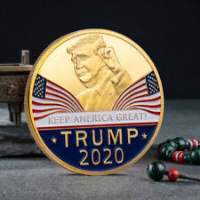 Lots Gold Donald Trump 2020 Keep America Great Commemorative Coin DIY Gift