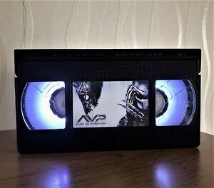 Alien VS Predator Movie Retro VHS Night Light, Desk Lamp, Kids, TV, Horror