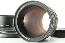 """""""Top Mint w/ Hood"""" Nikon AF Nikkor 85mm f/1.4 D Portrait Prime Bright Lens JAPAN"""