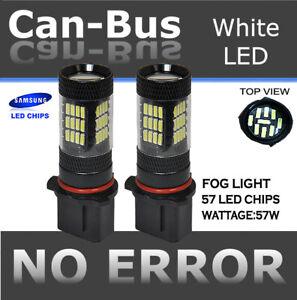 Samsung 57 LED 5202 P13W SH24W Plasma Projector Super White Fog Light bulbs A9