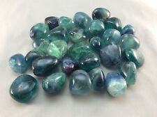 Tumbled Blue Fluorite The Genius Stone, Crystal Healing, Metaphysical