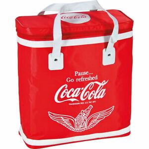 EZetil Coca-Cola Kühltasche Go Refreshed 22 Liter rot mit 2 440g Akku