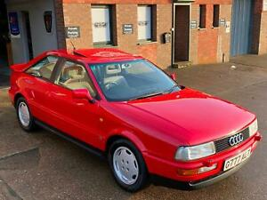 1990 Audi Coupe 2.3, stunning show condition car, last owner 21 year. FSH