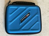 ❤️Nintendo 3DS/2DS ❤️Official Blue Carry Carrying Case w/6 Game Slots