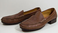Cole Haan Country Womens Brown Leather Slip On Loafer Shoe Size 8.5AA Narrow