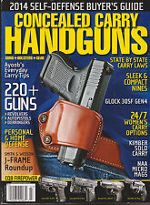CONCEALED CARRY HANDGUNS MAGAZINE 2014 *SELF DEFENSE BUYER'S GUIDE*