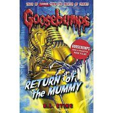 Return of the Mummy (Goosebumps)-ExLibrary