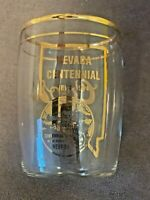 Vintage 1964 Coors Banquet Beer Nevada Centennial Statehood Glass 1864-1964