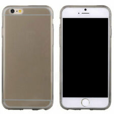 iPhone 6 & 6s transparant case hoesje - zwart