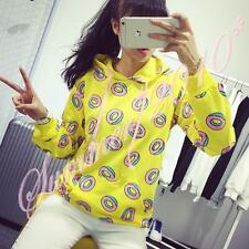Kpop GOT7 Just Right Mark BTS Jung Kook Donut Womens Hoodies Sweatshirt Sweater