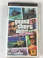 Grand Theft Auto Vice City Stories Sony PSP 2006 New Sealed Black Label