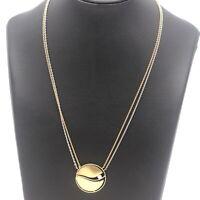 Kette Collier mit Brillant Anhänger Juwelier Meister 750 Gold 18 Karat Gelb- ...
