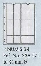 Numismatica moneta pagine - numismatica 34. 5 fogli & bianco interleaving