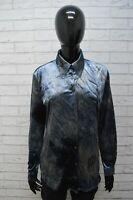 Camicia Donna Max & co Camicetta Taglia 44 Shirt Maglia Blusa Casacca Ciniglia