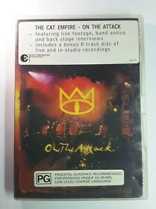 The Cat Empire - On The Attack DVD + CD Band Music Concert