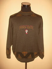 vintage french classic Strickpulli strick sweatshirt Gr.56 L/XL