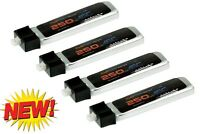 PowerHobby 1S 3.7V 250Mah 45C Lipo Battery (4) : HobbyZone Sport Cub S