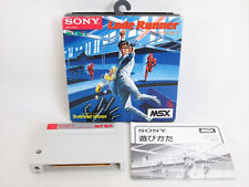 MSX LODE RUNNER Sony Import Japan Video Game 1283 msx