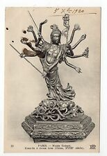 CHINE Statue KOAN - IN à douze bras  XVIIIéme siécle
