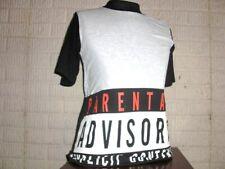 H&M Parental Advisory Explicit Content t-shirt shirt youth Large