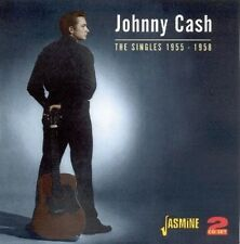 JOHNNY CASH - THE SINGLES 2 CD NEU
