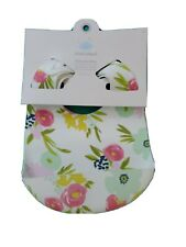 Cloud Island Silicone Bibs 2 Pack • Flowers & Hearts 💕