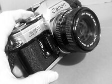 CANON  AT 1 with 50mm  1:18 canon lens and cap