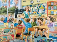 Ravensburger Happy Days at Work The Teacher 500 piece nostalgic jigsaw