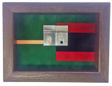 Small Double Regimental Colours Miniatures Medal Display Case
