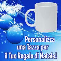 Tazza in Ceramica Personalizzata Ottimo Regalo di Natale con L'immagine che Vuoi
