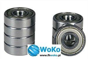 Bearing 624 ZZ 624zz 624Z 624z 624 2ZR 624ZZ dimension 4x13x5 fast free shipping
