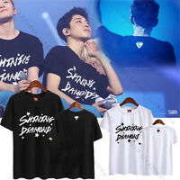 Kpop Seventeen 17 Shining Diamond T-shirt MINGYU Tshirt Wonwoo Tee Unisex Cotton