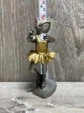SPI 1993 Pewter Frog Figure Ballet Dancer Ballerina toad Dance Figurine Decor