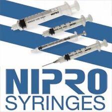 20CC Syringe Luer Lock, Nipro Brand 20cc Syringes, 50/box, Syringe Onlyy
