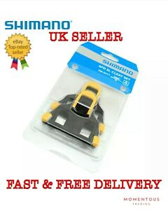 Genuine Shimano SM-SH11 Float SPD-SL Road Bike Pedal Cleats +/-3° Yellow