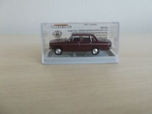 BREKINA 1/87 SCALE VOLVO 144 LIMOUSINE (SALOON) IN WINE RED AND BOXED