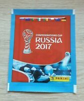 Panini 1 Tüte Confederations Cup 2017 Russia Bustina Pochette Packet Pack WM