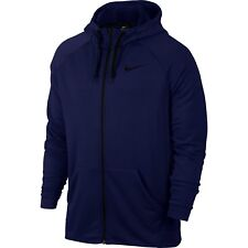 Nike Men's Zipped Jumper Dri Training Hoodie Top Jacket Hooded Sports Tracksuit