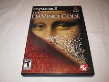 The DaVinci Code (Playstation PS2) Black Label Original Release Complete LN Mint