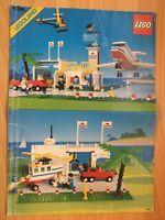 Vintage Lego 6396 International Jetport Airport - Instruction Manual Only