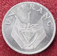 Rwanda 1 Franc 1977 (D1703)