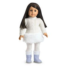 NIB American Girl~~~JLY~~Soft As Snow Outfit Only