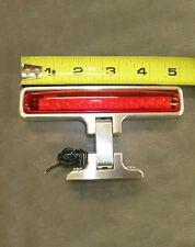 Street Rat Rod Polished Aluminum Adjustable Rear Window LED Third Brake Light