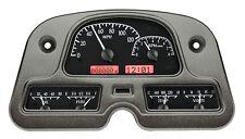 1962-84 Toyota FJ Land Cruiser Dakota Digital Black Alloy & Red VHX Gauge Dash
