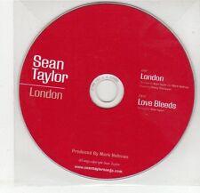 (EG261) Sean Taylor, London - DJ CD