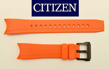 Citizen Watch Band Orange BN0085 BN0088 BJ2110 BJ2115 BJ2117 BJ2118 BJ-2119